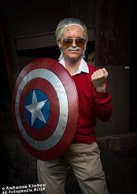 Cosplay-Cover: Stan Lee