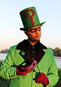 Cosplay-Cover: Riddler (Ball-Outfit)