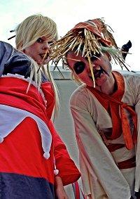 Cosplay-Cover: Scarecrow im Kimono