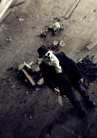 Cosplay-Cover: Rorschach (Impro)