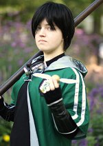 Cosplay-Cover: Regulus A. Black (Quidditch-Uniform)
