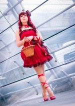 Cosplay-Cover: Himbeer Macaron
