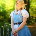 Cosplay: Maiden Zelda [A Link to the Past] (Casual)
