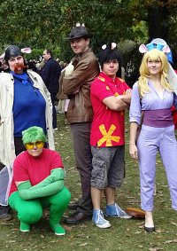 Cosplay-Cover: Trixi (Chip und Chap Ritter des Rechts)