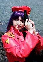 Cosplay-Cover: Misato Katsuragi