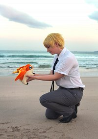 Cosplay-Cover: Takeru Takaishi - Tri Summer Schooluniform