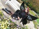 Cosplay-Cover: Der schwarze Schmetterling Ƹ̵̡Ӝ̵̨̄Ʒ