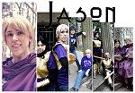 Cosplay-Cover: Jason Grace [Camp-Shirt, Praetor, Battle Amor]