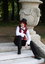 Cosplay-Cover: Lavi (Anzug)