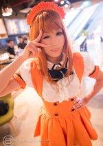 Cosplay-Cover: Asahina Mikuru [orange waitress]