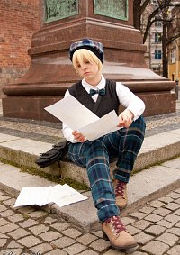 Cosplay-Cover: Ian Doyle [Serenata Bühnenoutfit]