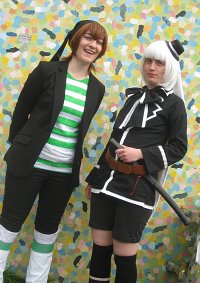 Cosplay-Cover: weisses Kaninchen