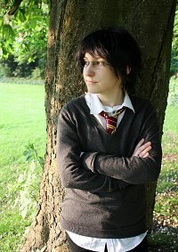 Cosplay-Cover: Harry James Potter [Schuluniform]
