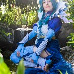 Cosplay: Aquana [Artwork by Cowslip]