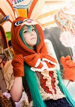 Cosplay-Cover: Miku Hatsune (LOL - Lots of Laugh [Bunny])