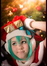 Cosplay-Cover: Miku Hatsune 【Project Diva Christmas】