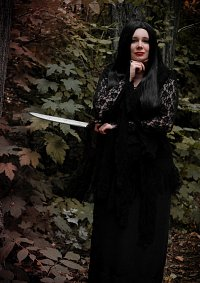 Cosplay-Cover: Morticia Addams (The Addams Family)