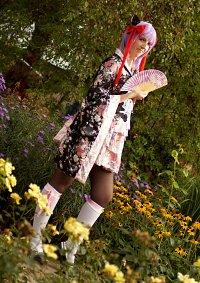 Cosplay-Cover: Kimono-Kleidchen ~ Neko Style