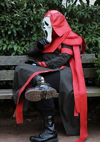 Cosplay-Cover: Ghostface (rot/schwarze Skin Version)