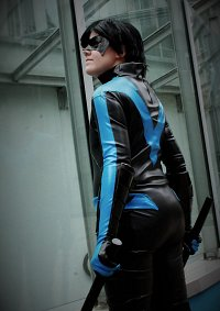 Cosplay-Cover: Nightwing [New 52 Blue Version]