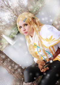 Cosplay-Cover: Prinzessin Zelda [[BOTW-Winter]]