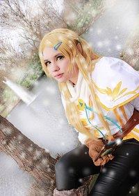 Cosplay-Cover: Prinzessin Zelda [[BOTW-Winter]]