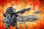 Cosplay-Cover: Black★Rock Shooter (ブラック★ロックシューター)