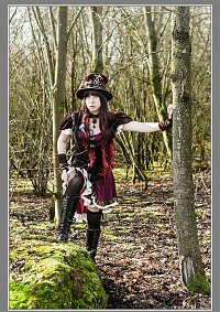 Cosplay-Cover: Steampunk Girl