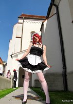 Cosplay-Cover: Erza Scarlett - Maid Dress