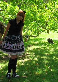 Cosplay-Cover: dark-ice-cream-lolita
