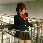 Cosplay: Gou Matsuoka [winter uniform]