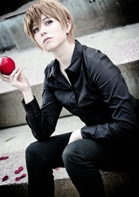 Cosplay-Cover: Light Yagami [Black Version]
