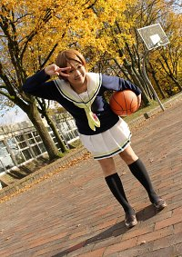 Cosplay-Cover: Aida Riko 【Seirin High Winter Uniform】
