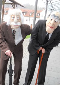 Cosplay-Cover: Statler (Muppet Show)