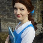 Cosplay: Belle ~ Blue Dress