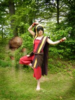 Cosplay-Cover: Toph Bei Fong (Feuernation)