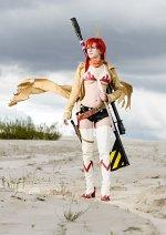 Cosplay-Cover: Yoko Littner [Bounty Hunter]