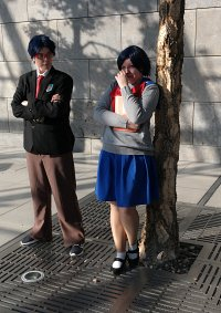 Cosplay-Cover: Mizuno Ami (Crystal Schuluniform)