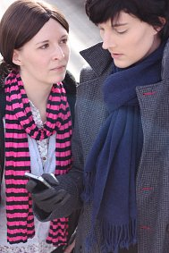 Cosplay-Cover: Molly Hooper (The Empty Hearse)