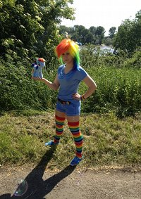 Cosplay-Cover: Rainbow Dash Human Version