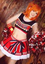 Cosplay-Cover: Kousaka Honoka [cheerleader]