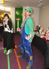 Cosplay-Cover: Luigi -Zombie Version-