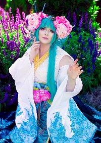 Cosplay-Cover: Miku Hatsune [Setsugetsuka - Eigenkreation]