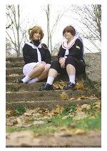 Cosplay-Cover: Sakura Kinomoto [Winteruniform]