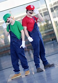 Cosplay-Cover: Luigi (Smash Bros Version)