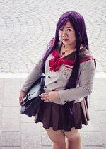Cosplay-Cover: Rei Hino (Schuluniform)