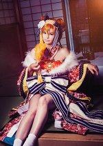 Cosplay-Cover: Kousaka Honoka ~Uma no Tosi Kimono Ver.~