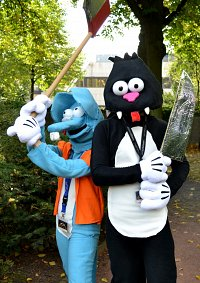 Cosplay-Cover: Scratchy