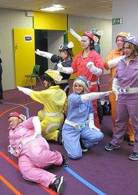 Cosplay-Cover: Pink(uchi Hiroki-früherer Eito Ranger)