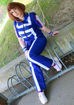 Cosplay-Cover: Ochaco Uraraka [Sportuniform]